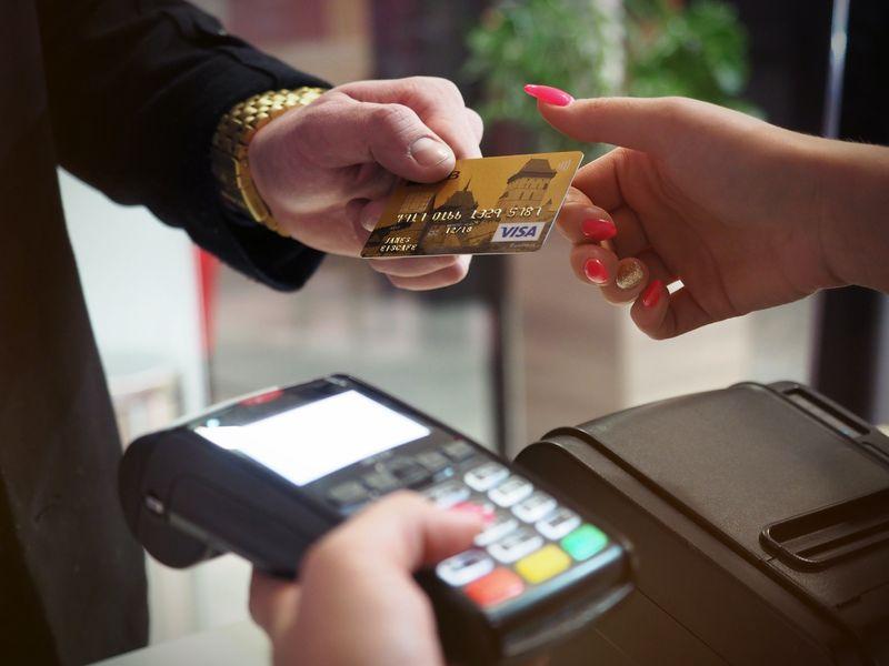 visa信用卡消費