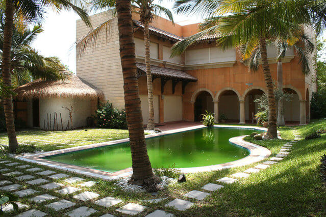 富人的別墅